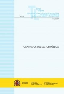 """TEXTO LEGAL Nº 11/2017 """"CONTRATOS DEL SECTOR PÚBLICO"""""""