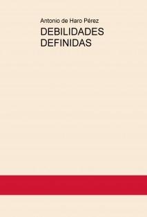 DEBILIDADES DEFINIDAS