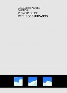 PRINCIPIOS DE RECURSOS HUMANOS