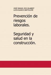 Prevención de riesgos laborales. Seguridad y salud en la construcción.