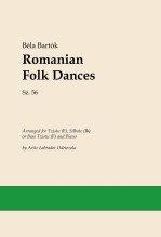 Romanian Folk Dances (Txistu/Silbote/Bass Txistu and Piano)