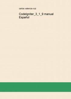 CodeIgniter_3_1_9 manual Español
