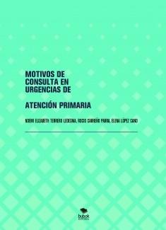 MOTIVOS DE CONSULTA EN URGENCIAS DE ATENCIÓN PRIMARIA