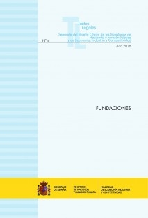 "TEXTO LEGAL Nº 4/2018 ""FUNDACIONES"""