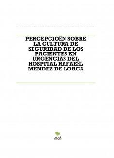 PERCEPCIÓN SOBRE LA CULTURA DE SEGURIDAD DE LOS PACIENTES EN URGENCIAS DEL HOSPITAL RAFAÉL MENDEZ DE LORCA