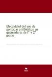 Efectividad del uso de pomadas antibióticas en quemaduras de 1º y 2º grado