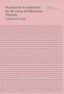 Pruebas de la evaluación de 3er curso de educación primaria. Curso 2017-2018