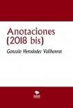 Anotaciones (2018 bis)