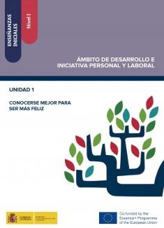 Enseñanzas iniciales: Nivel I. Ámbito de Desarrollo e Iniciativa Personal y Laboral. Unidad 1. Conocerse mejor para ser más feliz