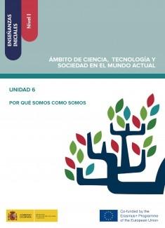 Enseñanzas iniciales: Nivel I. Ámbito de Ciencia, Tecnología y Sociedad en el Mundo Actual. Unidad 6. Por qué somos como somos