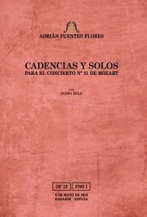Cadencias y solos para el concierto nº 21 de Mozart