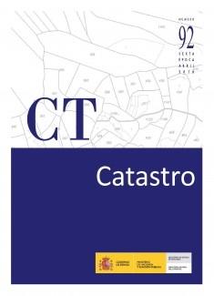 REVISTA CATASTRO Nº 92 LIBRO-E