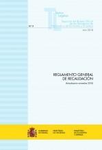 """Libro TEXTO LEGAL Nº 9/2018 """"REGLAMENTO GENERAL DE RECAUDACIÓN"""" (Actualización noviembre 2018), autor Libros del Ministerio de Hacienda"""
