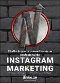 Conviértete en un profesional del Marketing en Instagram con este eBook.