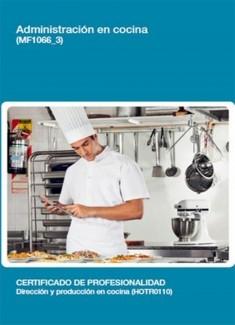 MF1066_3 - Administración en cocina