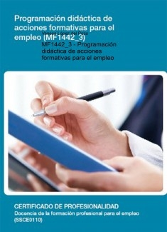 MF1442_3 - Programación didáctica de acciones formativas para el empleo