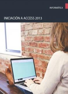 Iniciación a Access 2013