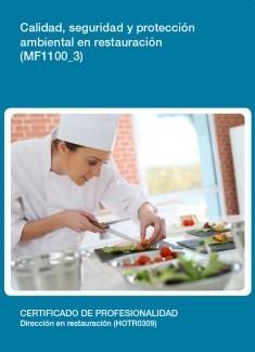 MF1100_3 - Calidad, seguridad y protección ambiental en restauración