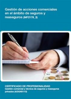 MF2178_3 - Gestión de acciones comerciales en el ámbito de seguros y reaseguros