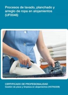 UF0046 - Procesos de lavado, planchado y arreglo de ropa en alojamientos