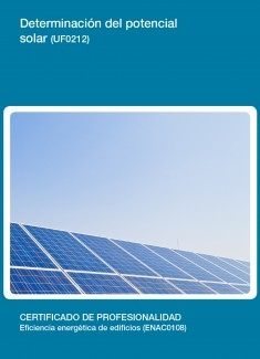 UF0212 - Determinación del potencial solar