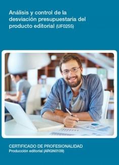 UF0255 - Análisis y control de la desviación presupuestaria del producto editorial
