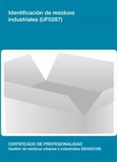 UF0287 - Identificación de residuos industriales