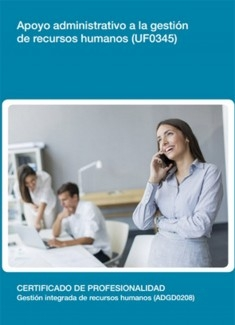 UF0345 - Apoyo administrativo a la gestión de recursos humanos