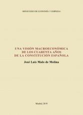 Libro Una visión macroeconómica de los cuarenta años de la Constitución española, autor Ministerio de Economía y Empresa