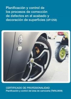 UF1258 - Planificación y control de los procesos de corrección de defectos en el acabado y decoración de superficies