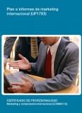 UF1783 - Plan e informes de marketing internacional.