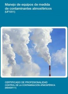 UF1811 - Manejo de equipos de medida de contaminantes atmosféricos