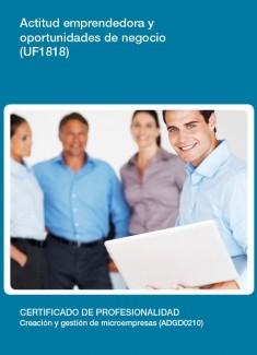 UF1818 - Actitud emprendedora y oportunidades de negocio