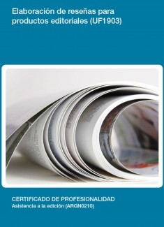 UF1903 - Elaboración de reseñas para productos editoriales