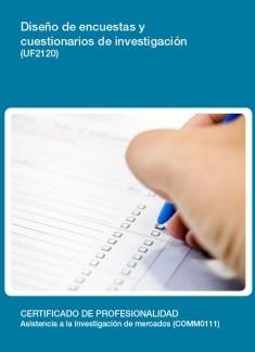 UF2120 - Diseño de encuestas y cuestionarios de investigación