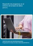 UF2177 - Desarrollo de programas en el entorno de la base de datos