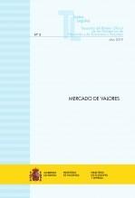 "Libro TEXTO LEGAL Nº 3/2019 ""MERCADO DE VALORES"" (Actualización febrero 2019), autor Libros del Ministerio de Hacienda"