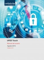 Libro UFED Touch. Manual del usuario, autor David Arboledas Brihuega