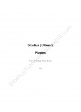 Sibelius Ultimate Plugins List
