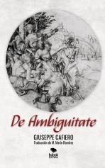 Libro DE AMBIGUITATE, autor GiuseppeCafiero
