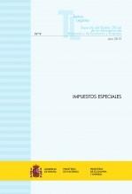 """Libro TEXTO LEGAL Nº 9/2019 """"IMPUESTOS ESPECIALES"""" (Actualización julio 2019), autor Libros del Ministerio de Hacienda"""