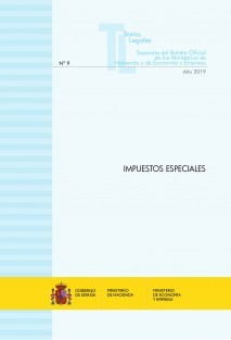 "TEXTO LEGAL Nº 9/2019 ""IMPUESTOS ESPECIALES"" (Actualización julio 2019)"