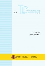 """Libro TEXTO LEGAL Nº 12/2019 """"CATASTRO INMOBILIARIO"""", autor Libros del Ministerio de Hacienda"""