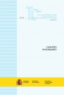 "TEXTO LEGAL Nº 12/2019 ""CATASTRO INMOBILIARIO"""