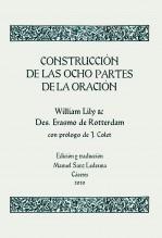 Libro Construcción de las ocho partes de la oración. Edición y traducción de Manuel Sanz Ledesma, autor Manuel Sanz Ledesma