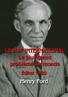 LE JUIF INTERNATIONAL - Le plus grand problème du monde (ed. 1920)
