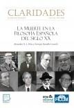 Claridades 12/1 (2020). Número monográfico: La muerte en la filosofía española del siglo XX