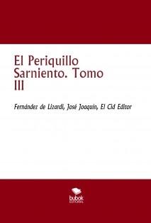 El Periquillo Sarniento. Tomo III
