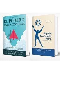 Pack libros: Propósito Transformador Masivo + El Poder de tu Marca Personal