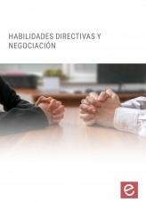 Libro Habilidades directivas y negociación, autor Editorial Elearning